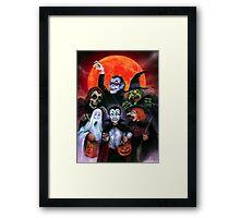 Halloween Monsters (Trick or Treat) Framed Print