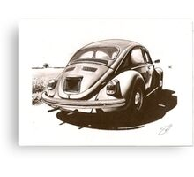 Sunday Driver Canvas Print