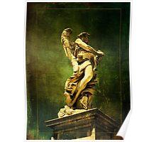 Castle Sant' Angelo Statue Poster