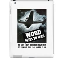 Wood Flies To War -- WW2 iPad Case/Skin