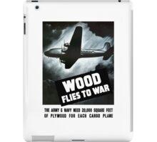 Wood Flies To War -- WW2 iPad Case/Skin