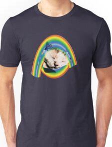 Sleeping on a rainbow Unisex T-Shirt