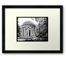 WW I Memorial Framed Print
