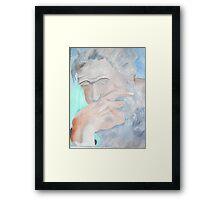 Despair (Cancer patient) Framed Print