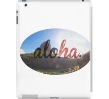 Aloha  iPad Case/Skin