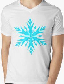 Frozen Fractals Mens V-Neck T-Shirt