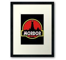 Mordor Park Framed Print