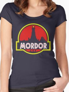 Mordor Park Women's Fitted Scoop T-Shirt