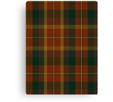 00347 Monaghan County District Tartan Canvas Print
