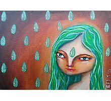 Elemental Goddess of Earth Photographic Print