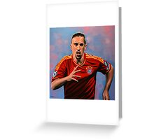Franck Ribery painting Greeting Card