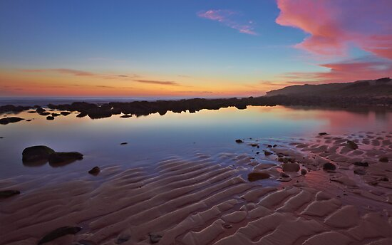 Rippled Dawn by Mark  Lucey