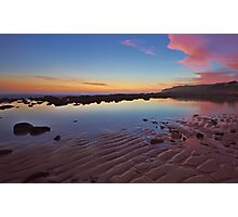 Rippled Dawn Photographic Print