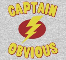 Captain Obvious T Shirt Baby Tee