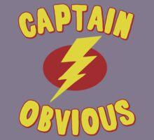 Captain Obvious T Shirt Kids Tee