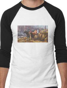 Bed and Breakfast Men's Baseball ¾ T-Shirt