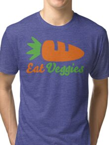Eat Veggies Tri-blend T-Shirt