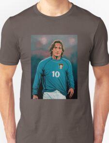 Francesco Totti Italia painting T-Shirt