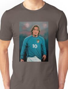 Francesco Totti Italia painting Unisex T-Shirt