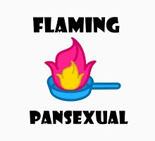 Flaming Pansexual shirt  (other items available) pansexual, pride, lgbt, pansexual pride Unisex T-Shirt