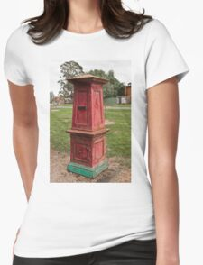 0432 Old Post Box Womens Fitted T-Shirt