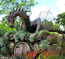 Hobbits Welcome by Sandra Fortier