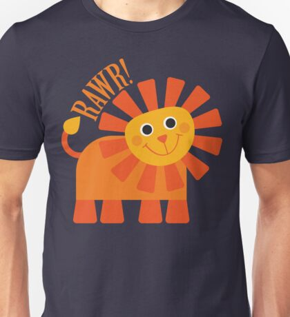 Rawr Lion Unisex T-Shirt
