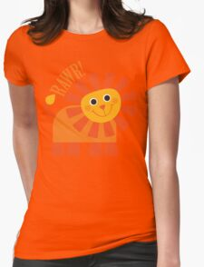 Rawr Lion Womens Fitted T-Shirt