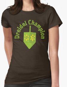 Dreidel Champion Womens Fitted T-Shirt