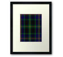 00349 Ofally County District Tartan Framed Print