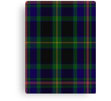 00349 Ofally County District Tartan Canvas Print