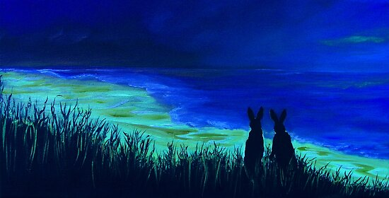 Beach Bunnies! by Linda Woodward