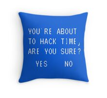 Are you Sure? Throw Pillow
