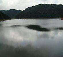 Mountain lake by vippy