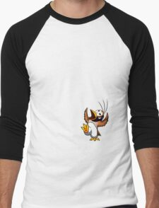 Hippo the Owl? Men's Baseball ¾ T-Shirt