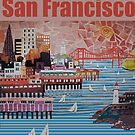 Port of San Francisco by Sally Sargent
