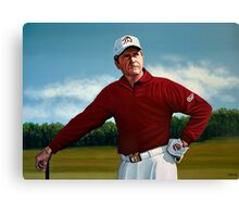 Gary Player painting Canvas Print