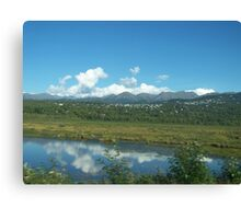 Mountain Community Canvas Print
