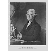 President Thomas Jefferson Photographic Print