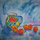 """An apple a day ... can keep the """"blues"""" away! by Pieta Pieterse"""