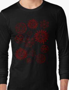 Supernatural Sigils Long Sleeve T-Shirt