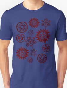 Supernatural Sigils Unisex T-Shirt