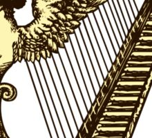 Irish Harp Sticker