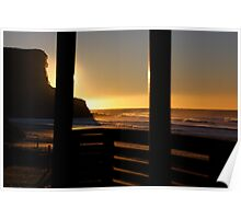 Garie Beach Surf Club Poster