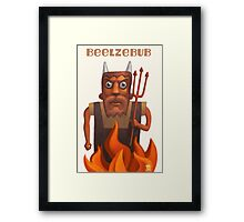 Beelzebub Framed Print