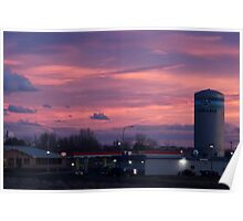Evening Sky, Moses Lake Poster