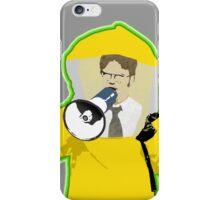 Hazmat Dwight iPhone Case/Skin