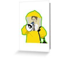 Hazmat Dwight Greeting Card