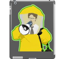 Hazmat Dwight iPad Case/Skin