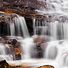 Katoomba Falls, Katoomba by David Mapletoft
